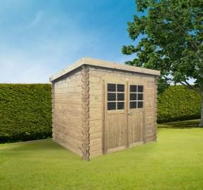 Jena 2980 x 2480 mm abri de jardin SOLID