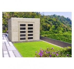 Bari autoclavé 2988 x 2908 mm abri de jardin SOLID