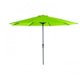 Parasol Lotus Ø300 vert lime hexagonal