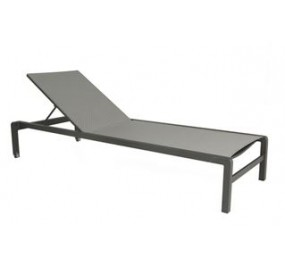 Chaise longue Gabana inclinable