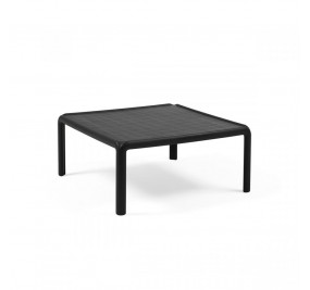 Table basse vitrée Nardi Komodo anthracite