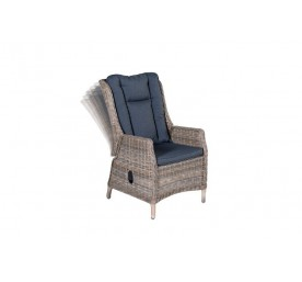 Fauteuil Portland inclinable havana sand / anthracite